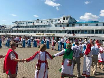 """You are currently viewing Этноэкспедиция """"Волга – река мира"""" прибывает в Чувашию"""