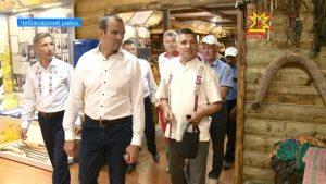 Глава Чувашии посетил музей суваро-болгаро-чувашской культуры