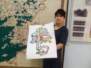 Read more about the article Вышитая карта Яльчикского района